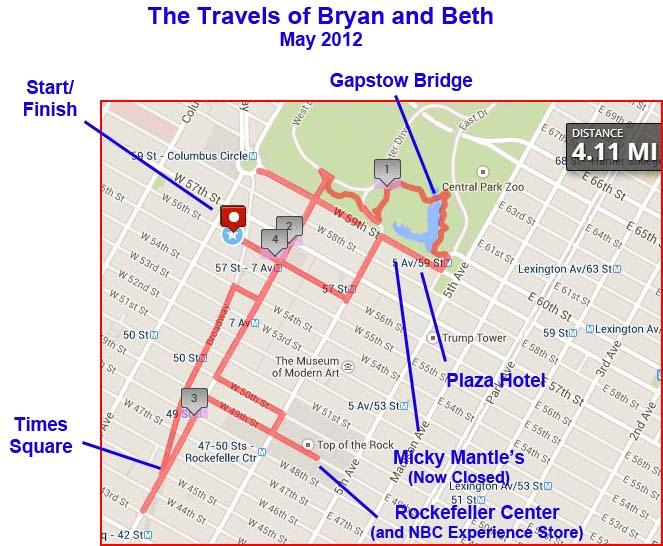 NYC 2012 Walk 2