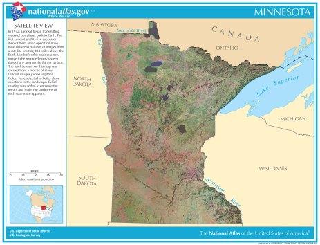 23A: MN Satellite Image