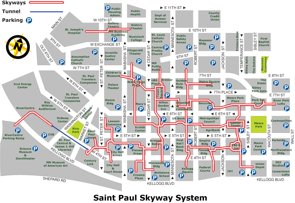 Fan image within minneapolis skyway map printable