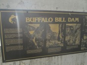 The Dam (and everything in this area) is named for Buffalo Bill Cody