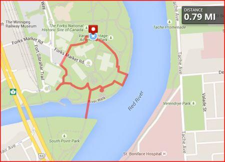 Walking Map 1