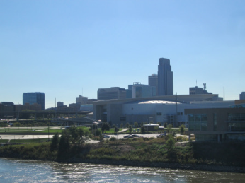 Omaha Skyline from the Bridge