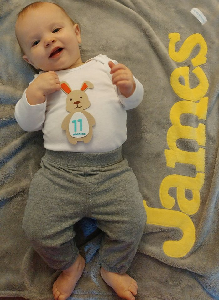 James 11 Month
