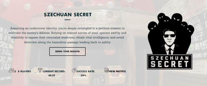 Szechuan Secret