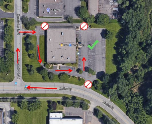 Parking Restriction Map